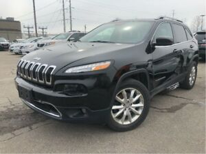 2016 Jeep Cherokee Limited 4WD Leather Navigation Panorama Roof