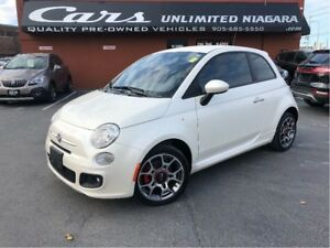 2012 Fiat 500 Sport | 1 OWNER | LOW MILEAGE | NO ACCIDENTS ...