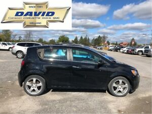 2012 Chevrolet Sonic LTZ HATCH/ SUNROOF/ 17in WH./ FOGS/ LOCAL T