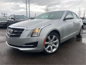 2015 Cadillac ATS 2.0 Turbo | AWD | Sunroof | Low Kms