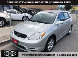 2003 Toyota Matrix XR SUNROOF!! - AWD