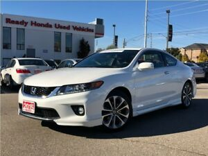 2015 Honda Accord Coupe EX-L V6 w/Navi  | Leather | Skirt Pkg