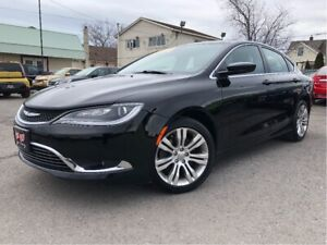 2015 Chrysler 200 Limited Nice Local Trade In! Leather Interior