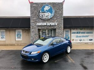 2012 Honda Civic Coupe SPORTY Si 6 SPEED
