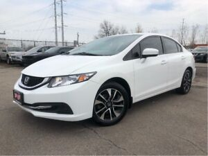 2015 Honda Civic EX | Sunroof| Auto| New Hankooks| Alloys | Htd