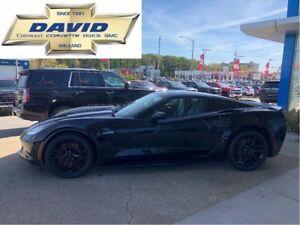 2019 Chevrolet Corvette Z06 1LZ, **BRAND NEW**, BLACK ALLYS