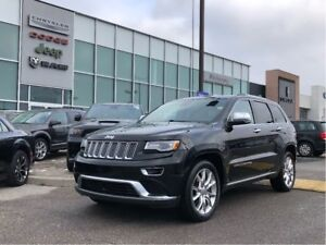 2014 Jeep Grand Cherokee SUMMit ECODIESEL, LOADED WITH LOW KMS!