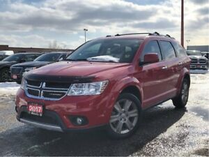 2017 Dodge Journey GT**LEATHER**SUNROOF**8.4 TOUCHSCREEN**DVD**
