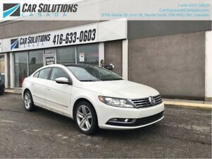 2013 Volkswagen CC SPORTLINE-SNROOF-LEATHER