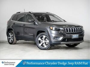 2019 Jeep Cherokee Limited * Pano Roof * Leather * 4x4