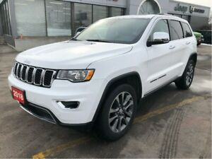 2018 Jeep Grand Cherokee Limited 4x4 V6 w/Tow Pack, Sunroof, Nav