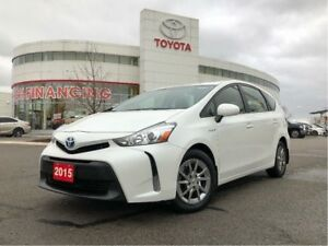 2015 Toyota Prius v Luxury Package - One-Owner / Off-Lease