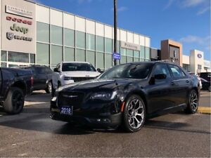 2018 Chrysler 300 S RWd. Loaded Luxury, Accident Free!