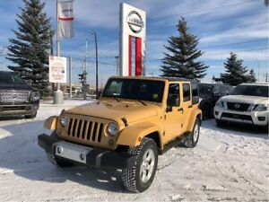 2014 Jeep Wrangler Unlimited Sahara LEATHER! NAVIGATION!