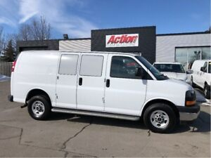 2017 Chevrolet Express 2500 cargo low kms. chrome! loaded
