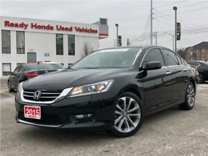 2015 Honda Accord Sedan Sport  | Sunroof | Rear Camera | Heated