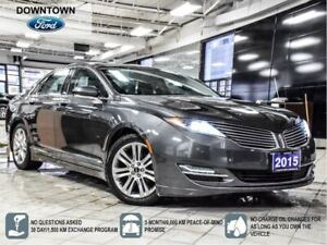 2015 Lincoln MKZ Hybrid, Moon Roof, Nav, BLIS