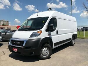 2019 Ram ProMaster 3500 HIGH ROOF**DOUBLE PASS SEAT*PARTITION*ON