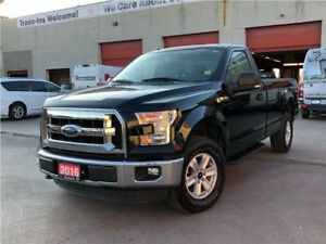 2016 Ford F-150 XLT**4X4**5.0L**TOUCHSCREEN**BACK UP CAMERA**