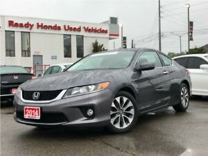 2014 Honda Accord Coupe EX-L w/Navi - Leather - Navigation - Roo