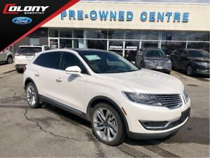 2016 Lincoln MKX Reserve | AWD | Lane Keep | Active Park Assist