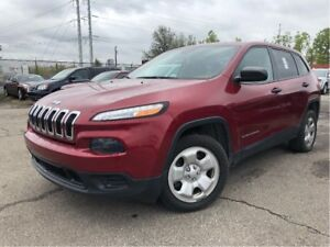 2014 Jeep Cherokee Sport REMOTE START LOADED 4 NEW TIRES