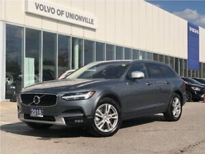 2018 Volvo V90 Cross Country T5 AWD 2 SETS OF WHEELS/TIRES, LOW