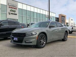 2018 Dodge Charger GT AWD, Carplay, Remote Start, Leather, Roof