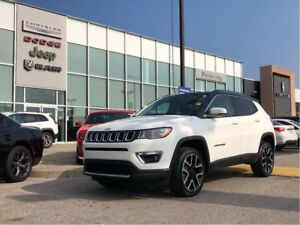 2017 Jeep Compass Limited. Previous Rental with Nav, Backup.