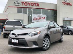 2015 Toyota Corolla LE|TCUV|OFF LEASE|New Brakes