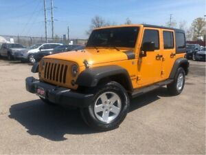 2012 Jeep WRANGLER UNLIMITED Sport 4WD| Nice Local Trade!!