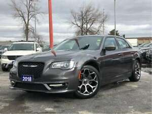 2018 Chrysler 300 S**LEATHER**PANORAMIC SUNROOF**NAV**BLUETOOTH*