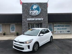 2018 Kia Rio LX+ WITH HEATED SEATS AND STEERING WHEEL!!