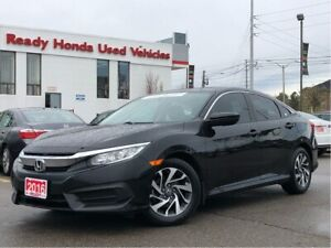 2016 Honda Civic Sedan EX - Lane Watch - Sunroof - Rear Camera