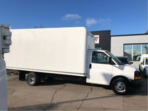 2017 GMC Savana 3500 16ft cube. fin or leasing available OAC