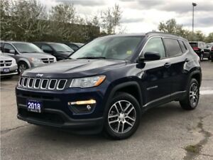 2018 Jeep Compass NORTH**5.0 TOUCHSCREEN**BACK UP CAM**BLUETOOTH