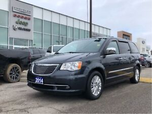 2014 Chrysler Town & Country Limited and FULLY Loaded! DVD, Nav