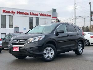 2015 Honda CR-V LX  - Heated Seats - Bluetooth - rear Camera