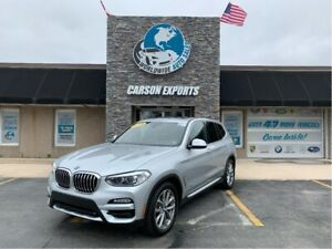 2018 BMW X3 LOOK W/PANO ROOF! FINANCING AVAILABLE!