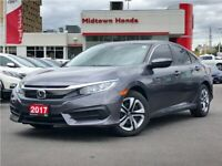 2017 Honda Civic Sedan LX-very well maintained-one owner car