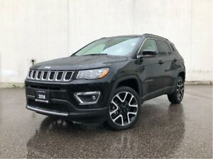 2018 Jeep Compass Limited - LEATHER/NAV/SUNROOF/AWD