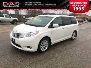 2011 Toyota Sienna LIMITED NAVIGATION/DVD/PANORAMIC ROOF