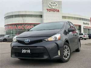 2016 Toyota Prius v One-Owner / Off-Lease / No Accidents