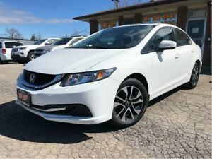 2015 Honda Civic EX Sunroof Parking Assist Rear Heated Front Sea