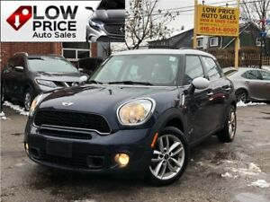 2014 Mini Cooper Countryman CooperS*AWD*Panoramic*Leather*Automa