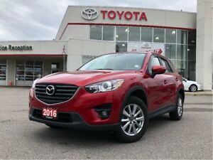 2016 Mazda CX-5 GS|FWD|Roof|Alloys|One Owner|LOW KM!