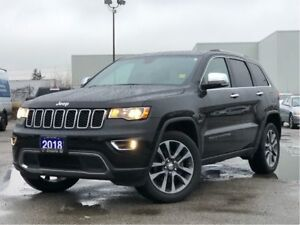 2018 Jeep Grand Cherokee LIMITED**LEATHER**SUNROOF**NAV**8.4 TOU