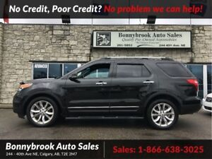 2013 Ford Explorer Limited 4X4 leather navigation bluetooth came