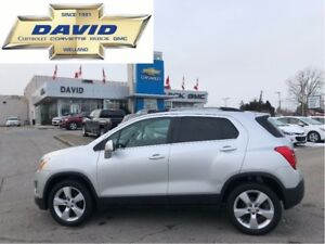 2013 Chevrolet Trax LTZ AWD, LEATHER, SUNROOF, LOCAL TRADE