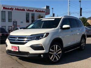 2017 Honda Pilot Touring - Navigation - Roof - Leather - DVD